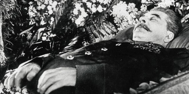 د ستالين مړينه