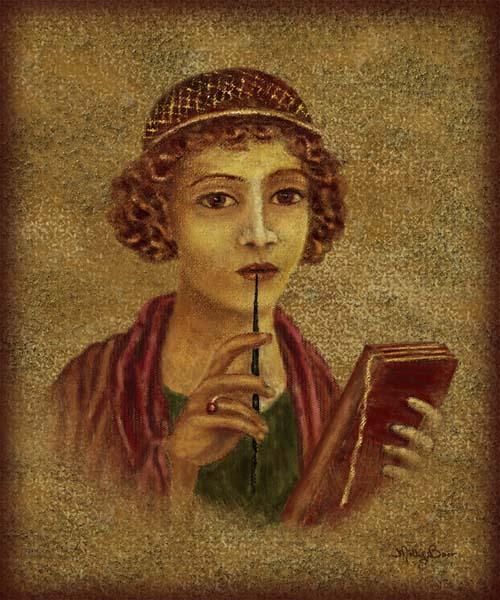 سافو - د نړۍ لومړۍ ښځينه شاعره