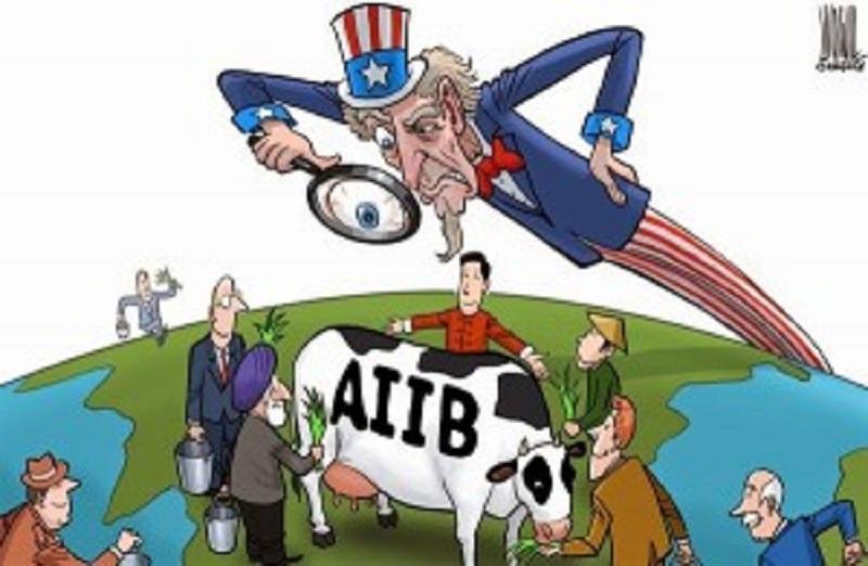 په چین کې نوی پراختیایې بانک او د امریکا لپاره سرخوږی