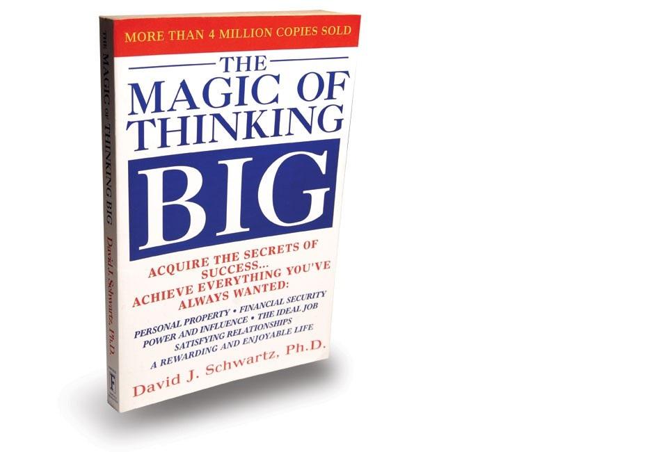 د تفکر کوډې ستر Magic of Thinking Big