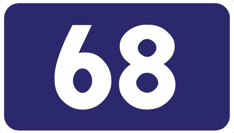 یوازې ۶۸ ثانې تخیل وکړئ!