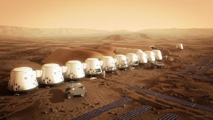 تر راتلونکو سلو کلونو مریخ ته د یو میلیون انسانانو د لېږد پروژه